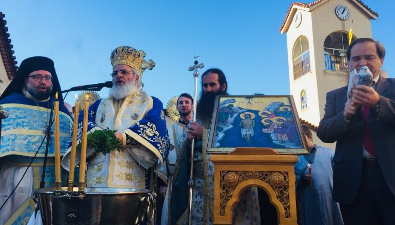 Η εορτή των Θεοφανείων στον Ι. Ναό Αγ. Μαρίνης Ηλιουπόλεως (ΦΩΤΟ)