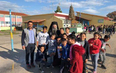 Ο Μητροπολίτης Πατρών στο Δημοτικό Σχολείο Σαγεϊκων (ΦΩΤΟ)