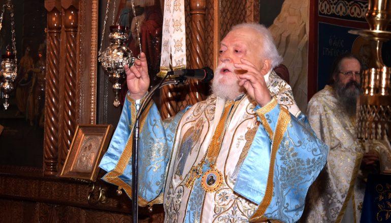 Ο Μητροπολίτης Κορωνείας στον Ι. Ναό Αγ. Ιωάννου Ταύρου (ΦΩΤΟ)