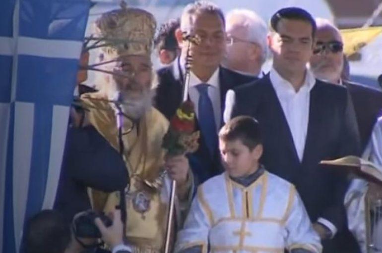 Θεοφάνεια στην Κάλυμνο παρουσία του Πρωθυπουργού Αλ. Τσίπρα (ΦΩΤΟ)