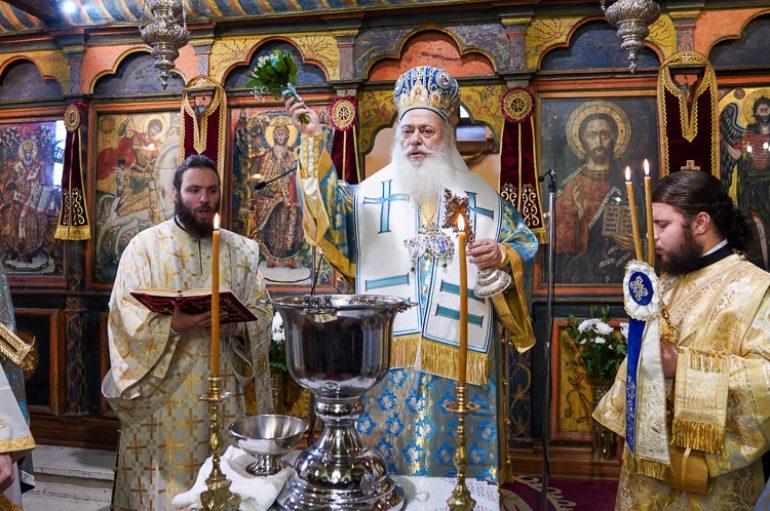 Παραμονή των Θεοφανείων στον Ι. Ναό Αγίου Γεωργίου Βεροίας (ΦΩΤΟ)