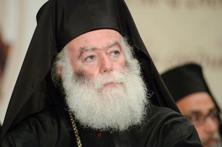 Τη βοήθεια της ΜΚΟ «Αποστολή» ζήτησε ο Πατριάρχης Αλεξανδρείας