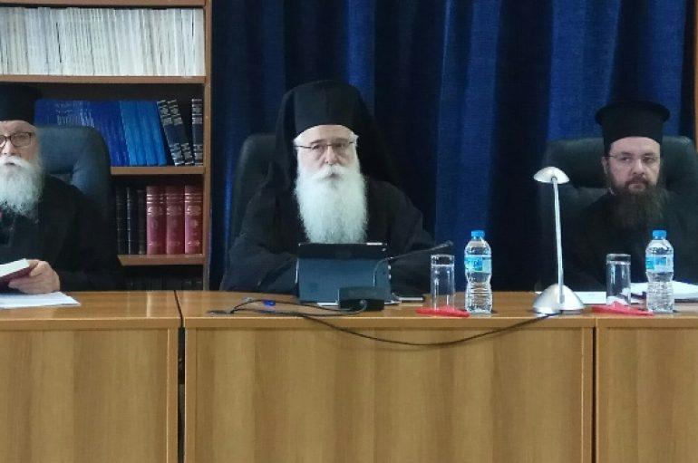 Ιερατική Σύναξη στην Ιερά Μητρόπολη Δημητριάδος (ΦΩΤΟ)