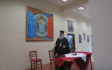 Ιερατική Σύναξη στην Ι. Μητρόπολη Φθιώτιδος (ΦΩΤΟ)