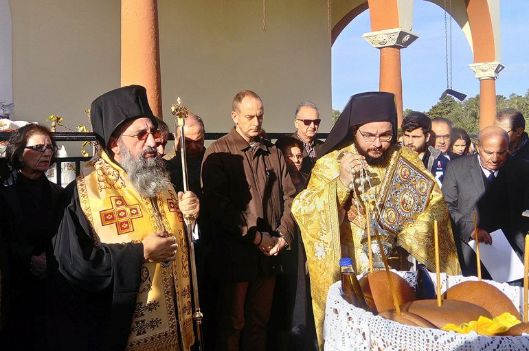 Η εορτή του Αγίου Μάρκου του Κωφού στην Ι. Μονή Αρσανίου (ΦΩΤΟ)