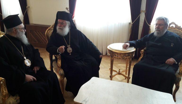 Σύσκεψη των Τριών Προκαθημένων για θέματα της Μέσης Ανατολής