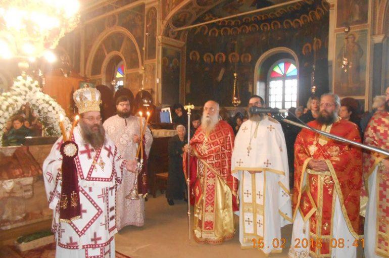 Η εορτή του Αγίου Ανθίμου στην Ι. Μητρόπολη Χίου (ΦΩΤΟ)