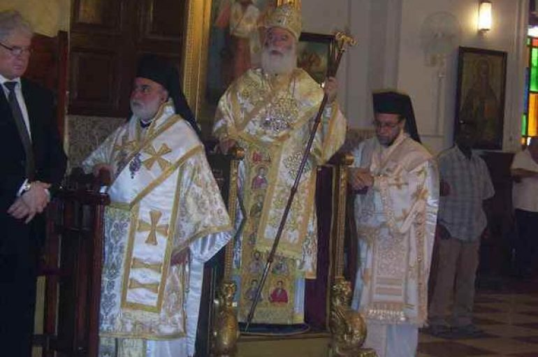 Πατριαρχική Θεία Λειτουργία στο Χαρτούμ (ΦΩΤΟ)