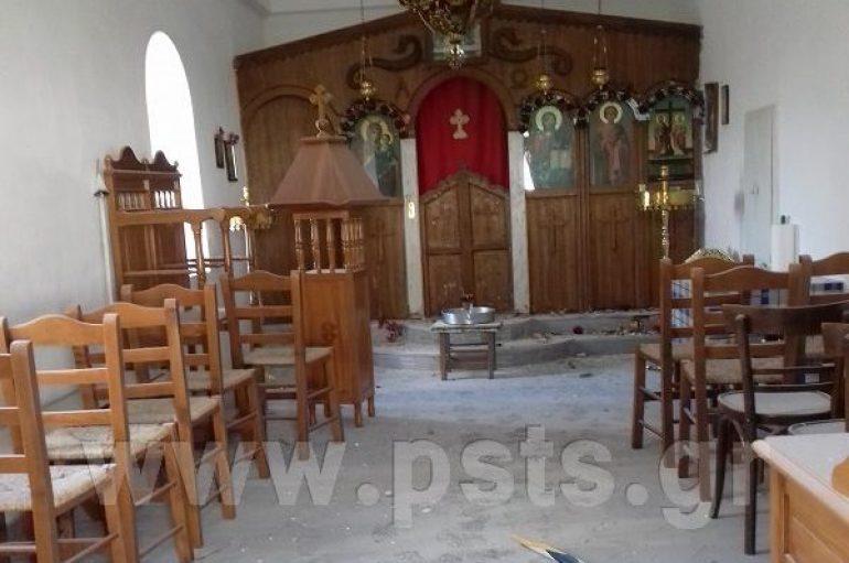 Άγριος βανδαλισμός εκκλησίας προκαλεί αποτροπιασμό στην Πάρο (ΦΩΤΟ)