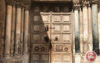 Άνοιξαν τις πύλες του Πανάγιου Τάφου (ΒΙΝΤΕΟ)