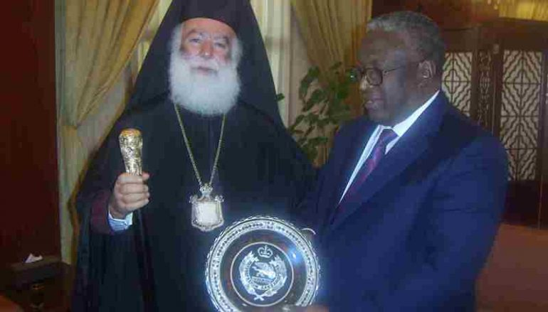 Στον Αντιπρόεδρο του Σουδάν ο Πατριάρχης Αλεξανδρείας (ΦΩΤΟ)