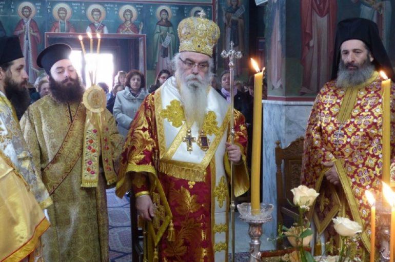 Ο εορτασμός του Αγίου Μάρτυρος Τρύφωνος στην Ι. Μ. Καστορίας (ΦΩΤΟ)