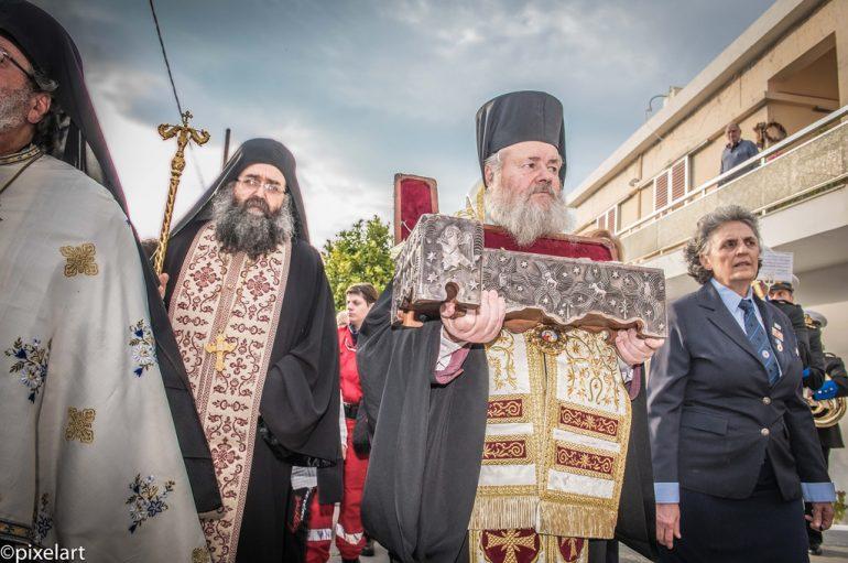 Τα Χανιά υποδέχτηκαν το Ιερό Λείψανο του Αγίου Χαραλάμπους (ΦΩΤΟ)
