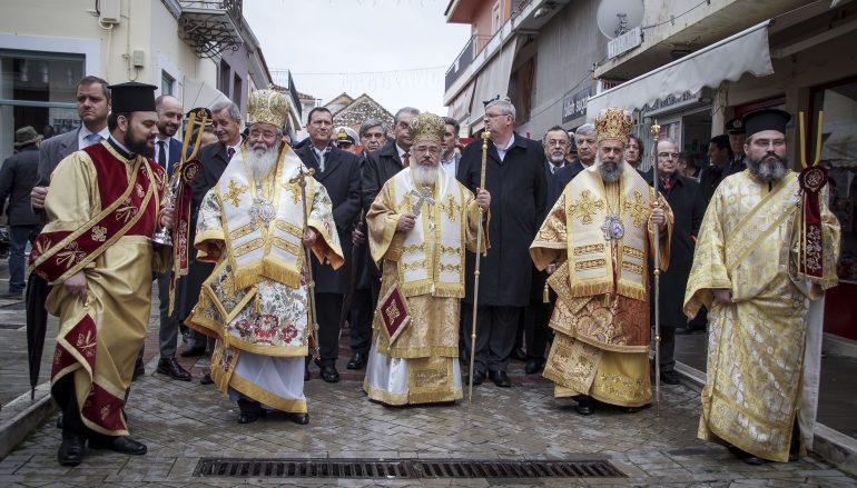 Η πόλη της Πρέβεζας τίμησε τον Πολιούχο της Άγιο Χαράλαμπο (ΦΩΤΟ)