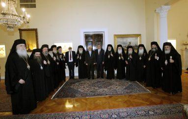 Επίσημο γεύμα στα μέλη της Δ.Ι.Σ. παρέθεσε ο Πρόεδρος της Δημοκρατίας (ΦΩΤΟ)