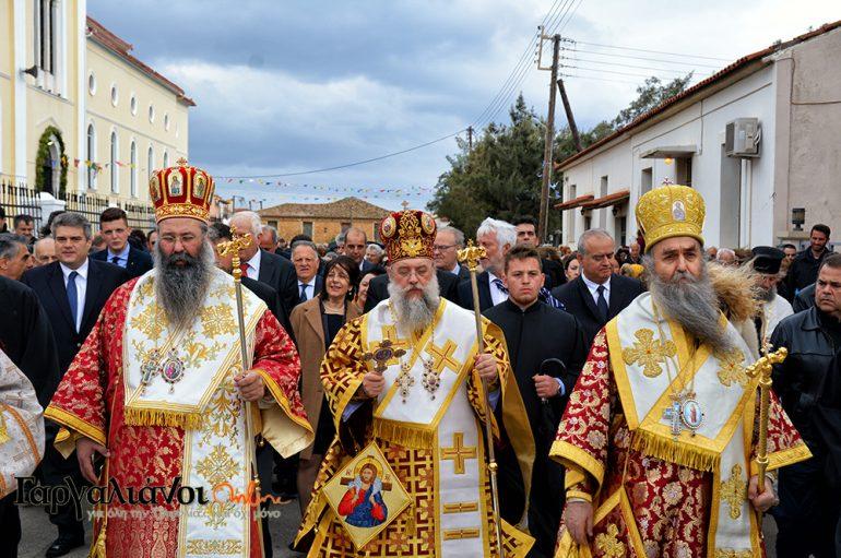 Τα Φιλιατρά εόρτασαν τον Πολιούχο τους Άγιο Χαράλαμπο (ΦΩΤΟ)
