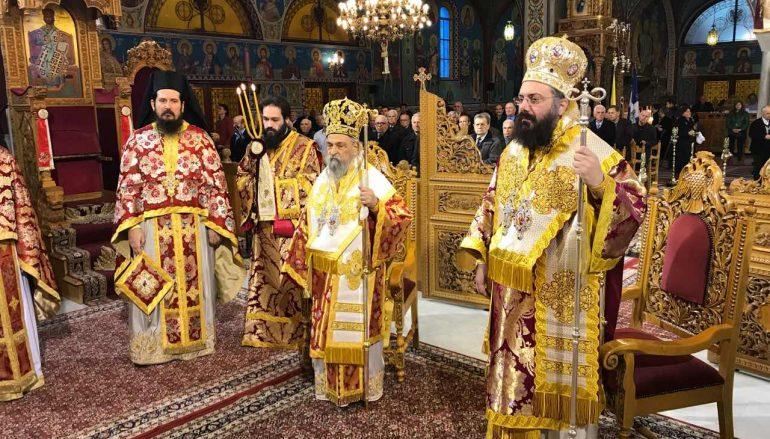 Η Λάρισα εόρτασε τον Άγιο Χαράλαμπο (ΦΩΤΟ)