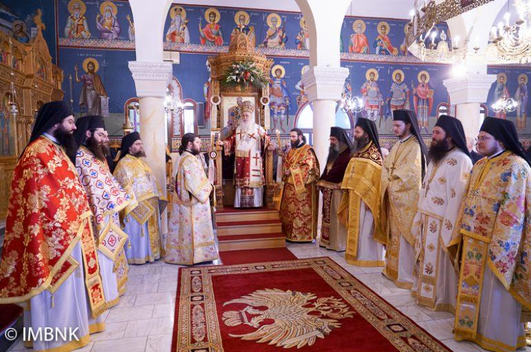 Πανηγύρισε o Ιερός Ναός του Αγίου Φωτίου Βεργίνης (ΦΩΤΟ)