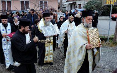 Η Ενορία Συκεών Άρτης υποδέχθηκε την Παναγία την Ροβέλιστα (ΦΩΤΟ)