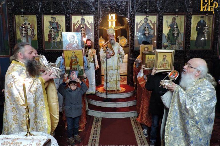 Κυριακή της Ορθοδοξίας και Χειροτονία στην Ι. Μ. Άρτης (ΦΩΤΟ)