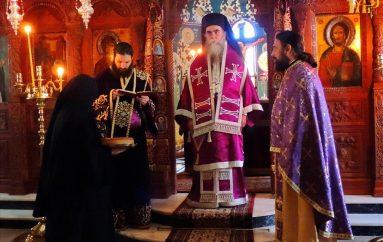 Αρχιερατική Προηγιασμένη στην Ιερά Μονή Ροβελίστης Άρτης (ΦΩΤΟ)
