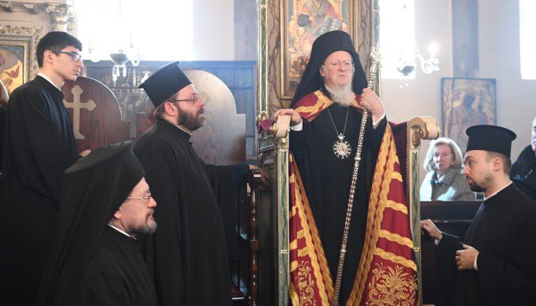 """Οικ. Πατριάρχης: """"Η Εκκλησία της Κων/πόλεως παρ' όλα όσα υπέστη, άντεξε, επιβίωσε, υπάρχει"""""""