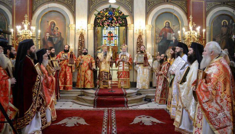 Η εορτή της Ορθοδοξίας στην Ι. Μητρόπολη Πατρών (ΦΩΤΟ)