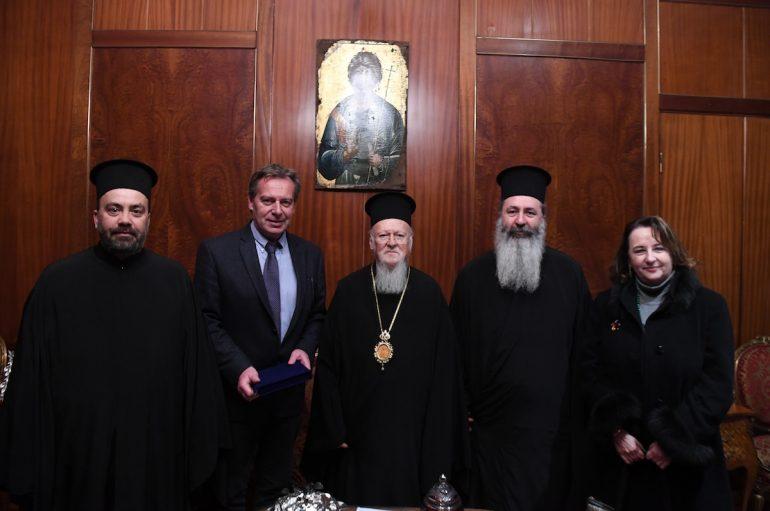 O Μητροπολίτης Κεφαλληνίας στο Οικουμενικό Πατριαρχείο