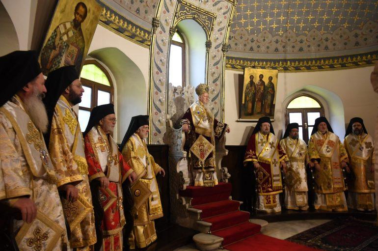 Ο εορτασμός της Κυριακής της Ορθοδοξίας στο Οικ. Πατριαρχείο (ΦΩΤΟ)