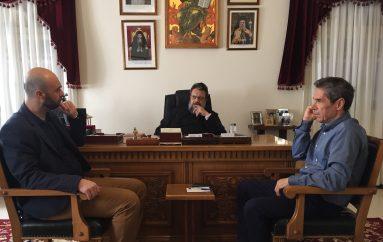 Συνάντηση κυβερνητικού κλιμακίου με τον Μητροπολίτη Μεσσηνίας