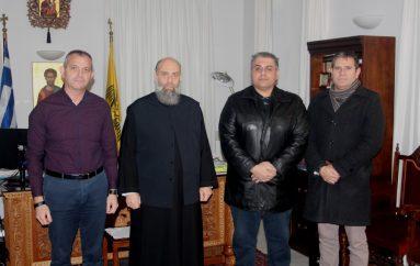 Η Ένωση Στρατιωτικών Θεσσαλίας στον Μητροπολίτη Θεσσαλιώτιδος