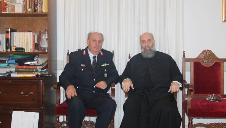 Στον Μητροπολίτη Θεσσαλιώτιδος ο νέος Αστυνομικός Διευθυντής Καρδίτσης