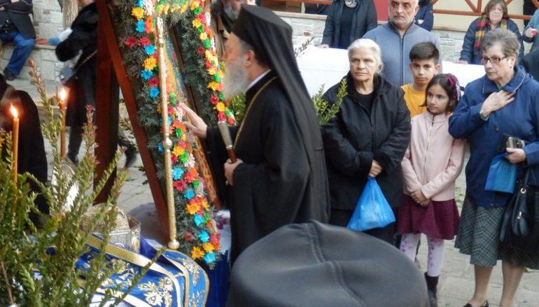 Λαμπρός ο εορτασμός του Αγ. Παρθενίου στην Ι. Μ. Μακρυμάλλης Ευβοίας (ΦΩΤΟ)