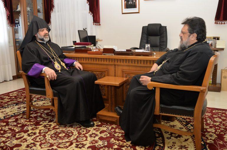 Στον Μητροπολίτη Μεσσηνίας ο Αρχιεπίσκοπος Αρμενίων Ελλάδος (ΦΩΤΟ)