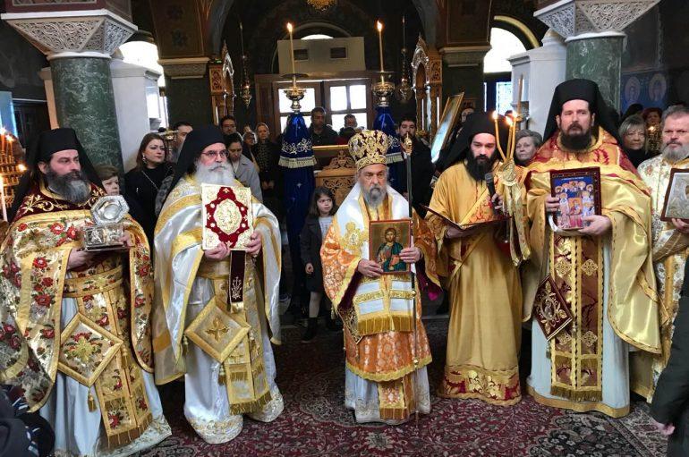 Κυριακή της Ορθοδοξίας στον Άγιο Αχίλλιο Λάρισας (ΦΩΤΟ)