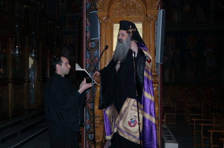 Προηγιασμένη Θ. Λειτουργία στην Ι. Μητρόπολη Σταγών (ΦΩΤΟ)
