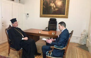 Συνέντευξη του Μητροπολίτη Σουηδίας Κλεόπα εφ΄ όλης της ύλης (ΒΙΝΤΕΟ)