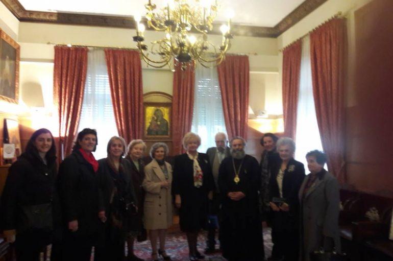 Με τον Μητροπολίτη Μάνης συναντήθηκε η Παλλακωνική Ομοσπονδία