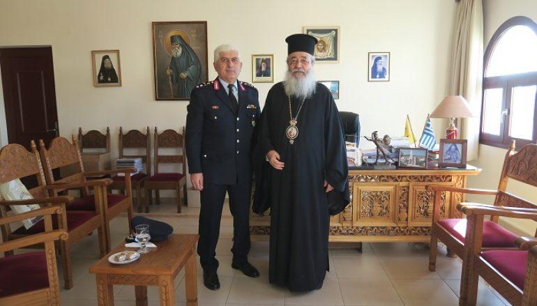 Στον Μητροπολίτη Φθιώτιδος ο νέος Γεν. Περιφερειακός Αστυνομικός Διευθυντής