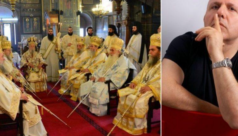 Το μένος του Νίκου Μουρατίδη κατά της Εκκλησίας