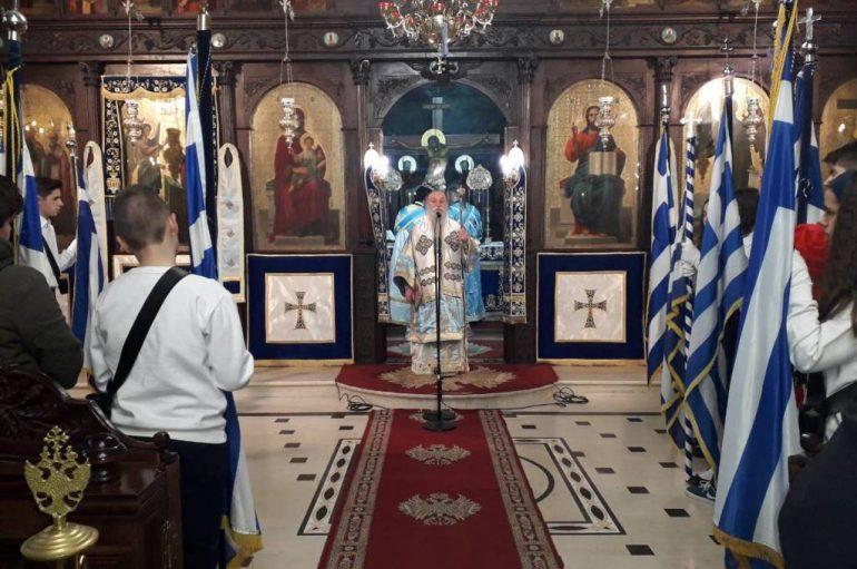 Η εορτή του Ευαγγελισμού στην Ι. Μητρόπολη Γρεβενών (ΦΩΤΟ)