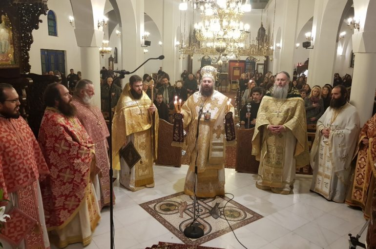 Ιερά Αγρυπνία για την εορτή του Αγίου Αλεξίου στην Ι. Μ. Τρίκκης (ΦΩΤΟ)