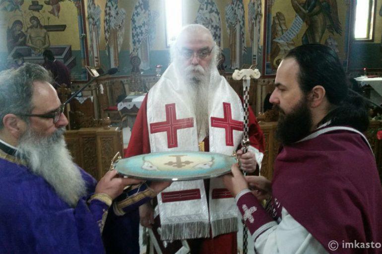 Προηγιασμένη Θ. Λειτουργία στον Ι. Ναό Αγίου Νικάνορος Καστοριάς (ΦΩΤΟ)