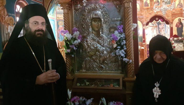 Νέα Ηγουμένη στην Ιερά Μονή Γκούρας Τρικάλων (ΦΩΤΟ)