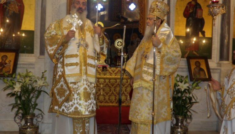 Ο Μητροπολίτης Αεξανδρουπόλεως στην Ι. Μητρόπολη Κορίνθου (ΦΩΤΟ)
