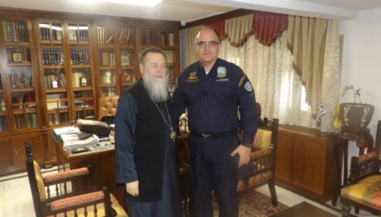 Ο Λιμενάρχης Κορίνθου επισκέφθηκε το Μητροπολίτη Διονύσιο (ΦΩΤΟ)