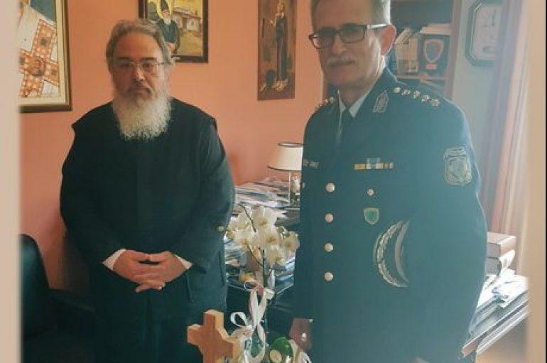 Στον Μητροπολίτη Πρεβέζης ο νέος Αστυνομικός Διευθυντής