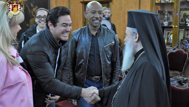 Τον Πατριάρχη Ιεροσολύμων επισκέφθηκε ο ηθοποιός Dean Cain (ΦΩΤΟ)