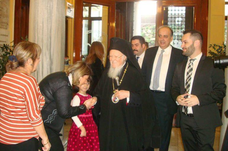 Ο Οικ. Πατριάρχης στην παρουσίαση του βιβλίου «Εξομολόγηση για παιδιά»