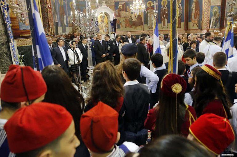 Η εορτή του Ευαγγελισμού της Θεοτόκου στην Ι. Μ. Γλυφάδας (ΦΩΤΟ)